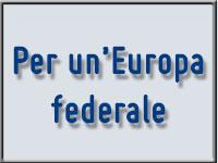 PER UN'EUROPA FEDERALE