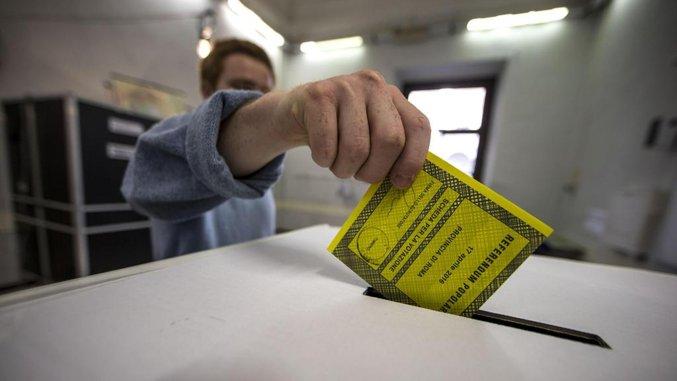 Il Governo annuncia che il Referendum, previsto per il prossimo 29 Marzo, è stato rinviato a data da destinarsi – ANSA