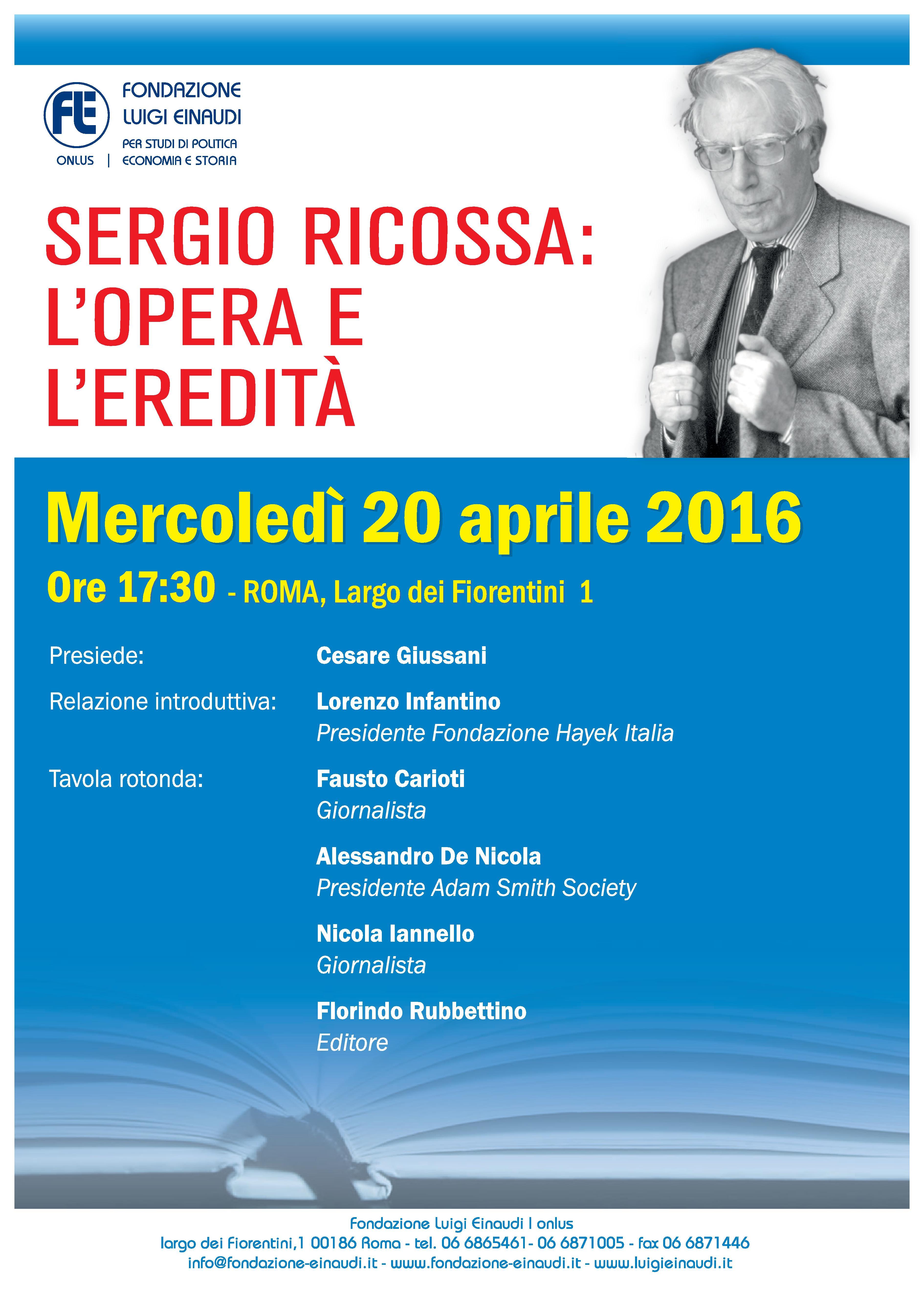 Sergio Ricossa[:en]20 Aprile – Sergio Ricossa
