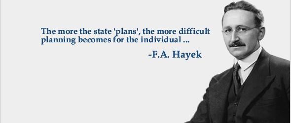 Martedì 10 Maggio – Buon Compleanno Hayek