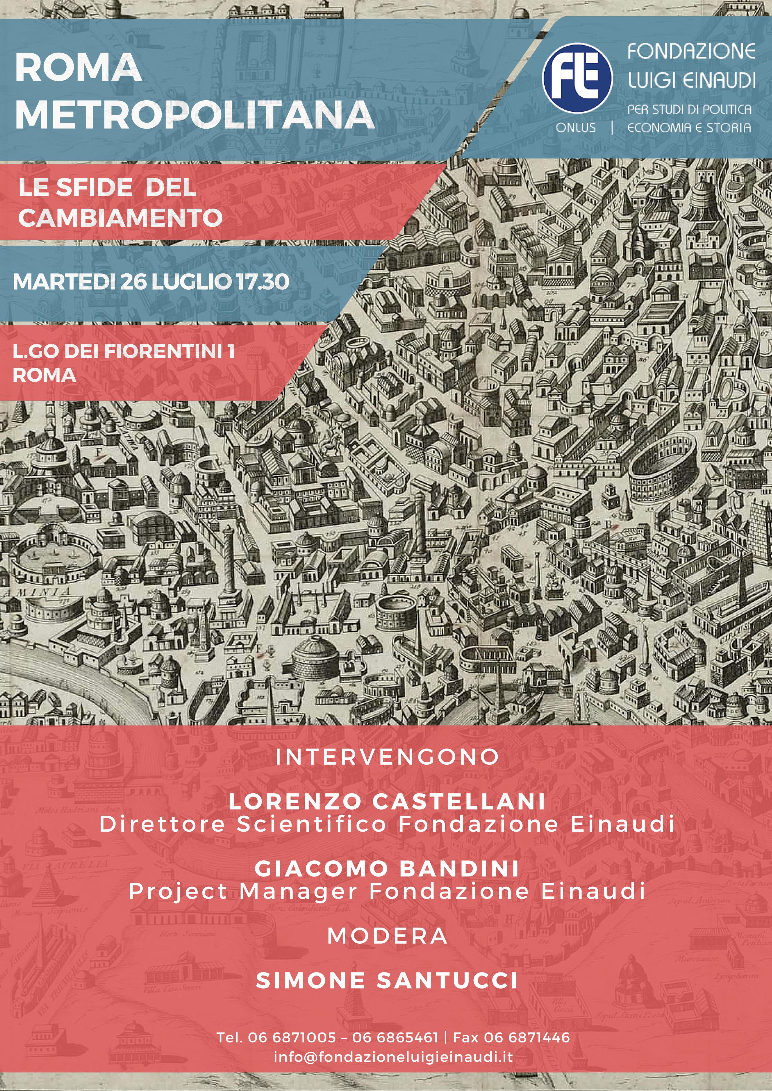 Roma Metropolitana: le sfide del cambiamento