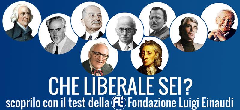 Scopri che liberale sei con il test della FLE