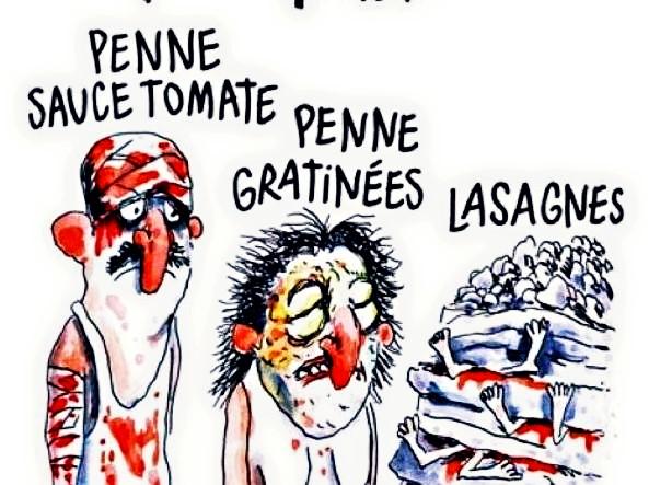#JeSuis Charlie sempre  Anche se non ci piace
