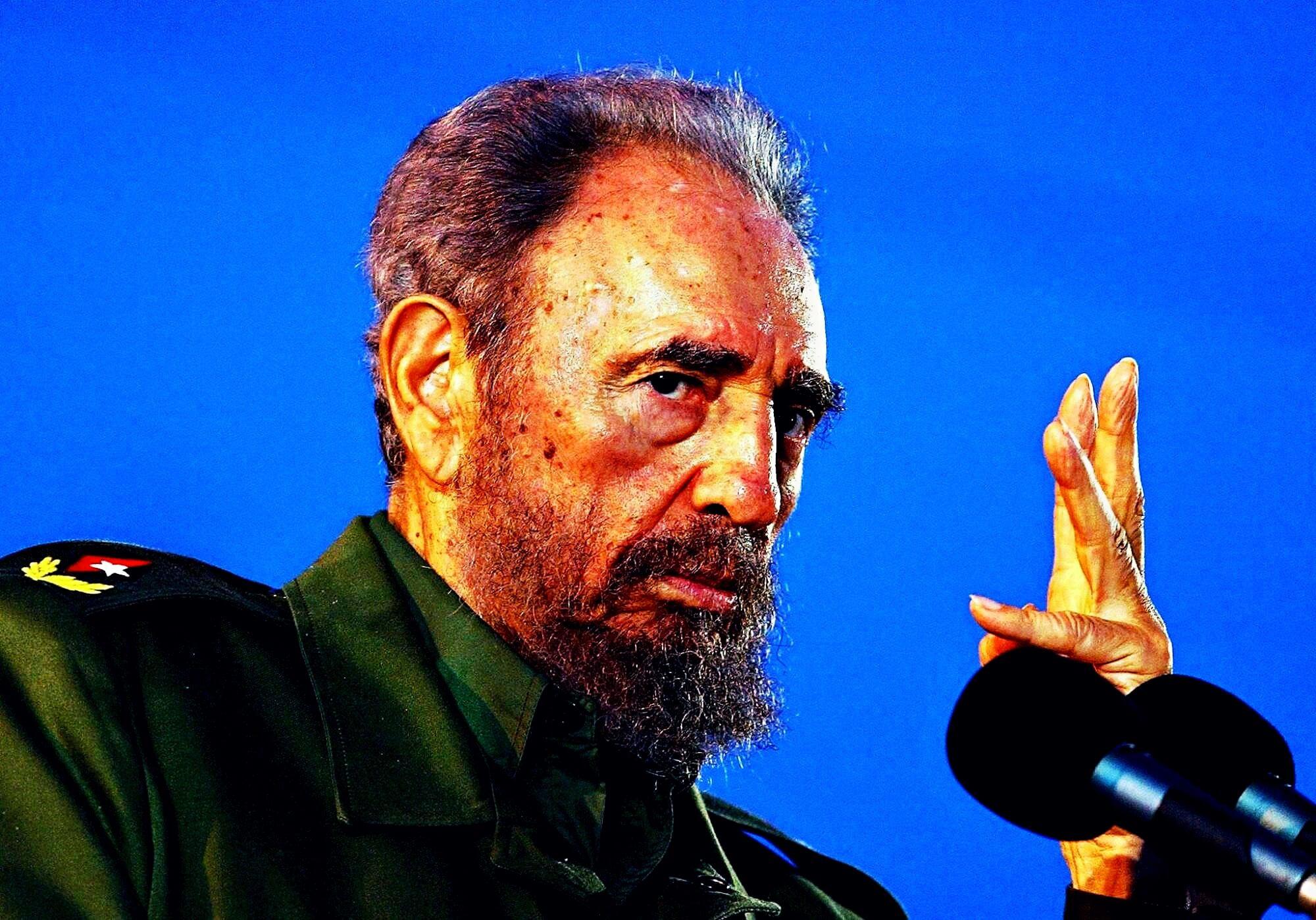 Fidel Castro, Il caudillo che piaceva alla gente che piace