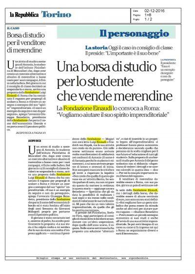 Repubblica Fondazione Einaudi