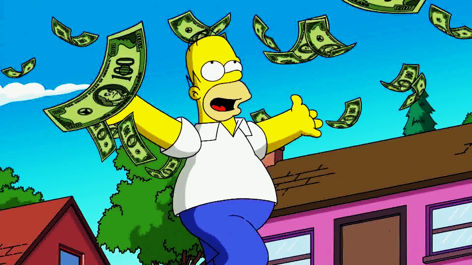 I Simpson e l'economia. Maledetta inflazione che ci fa invecchiare i soldi nelle tasche
