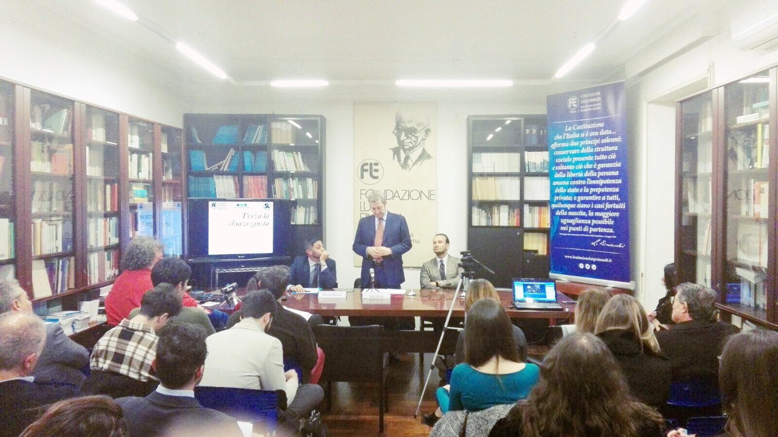 Della Vedova, euro e libertà economico-civili nella lezione inaugurale della SdL