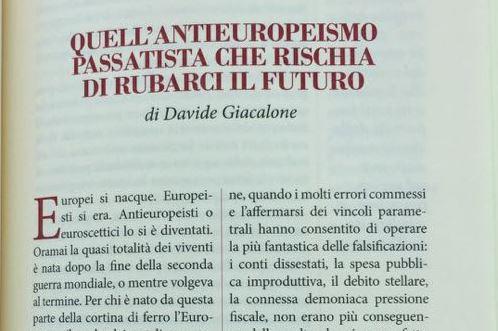 Quell'europeismo passatista che rischia di rubarci il futuro