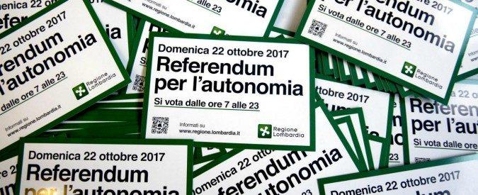 Il falso dio referendario