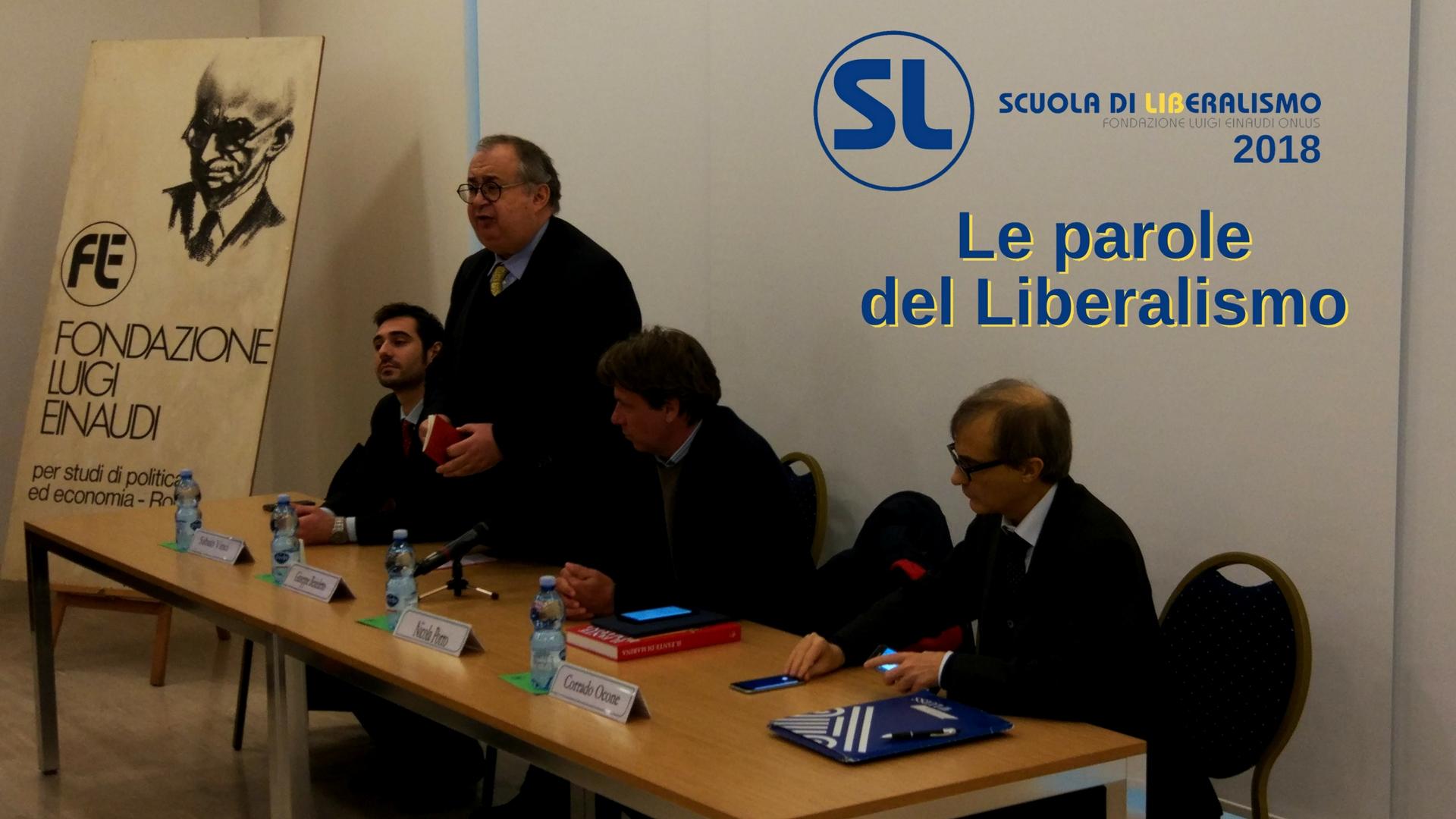 Confronto e discussione all'Open day della Scuola di Liberalismo