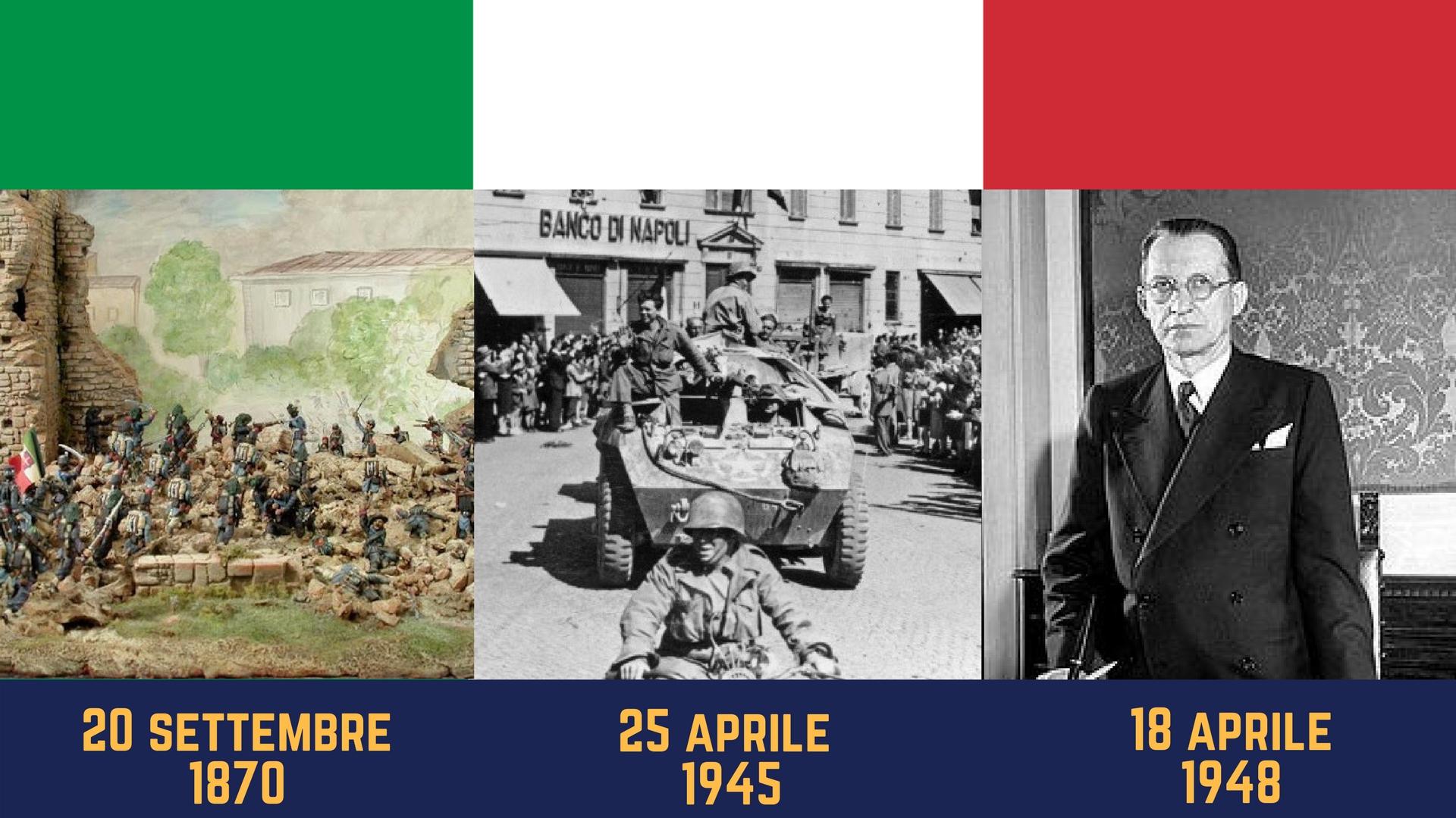 Quale delle seguenti è la data più importante per l'Italia?