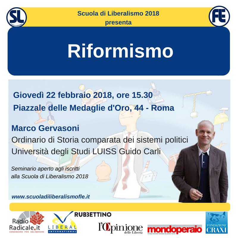 Reformism – Liberalism School 2018