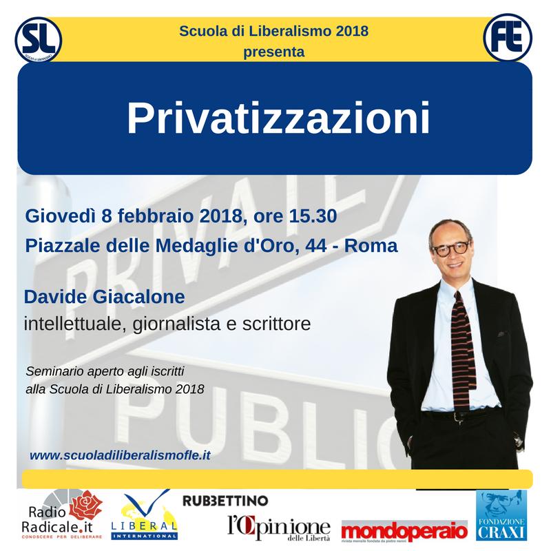Privatization – Liberalism School 2018