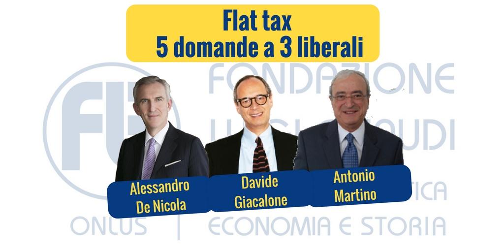 Flat tax, 5 domande a 3 liberali