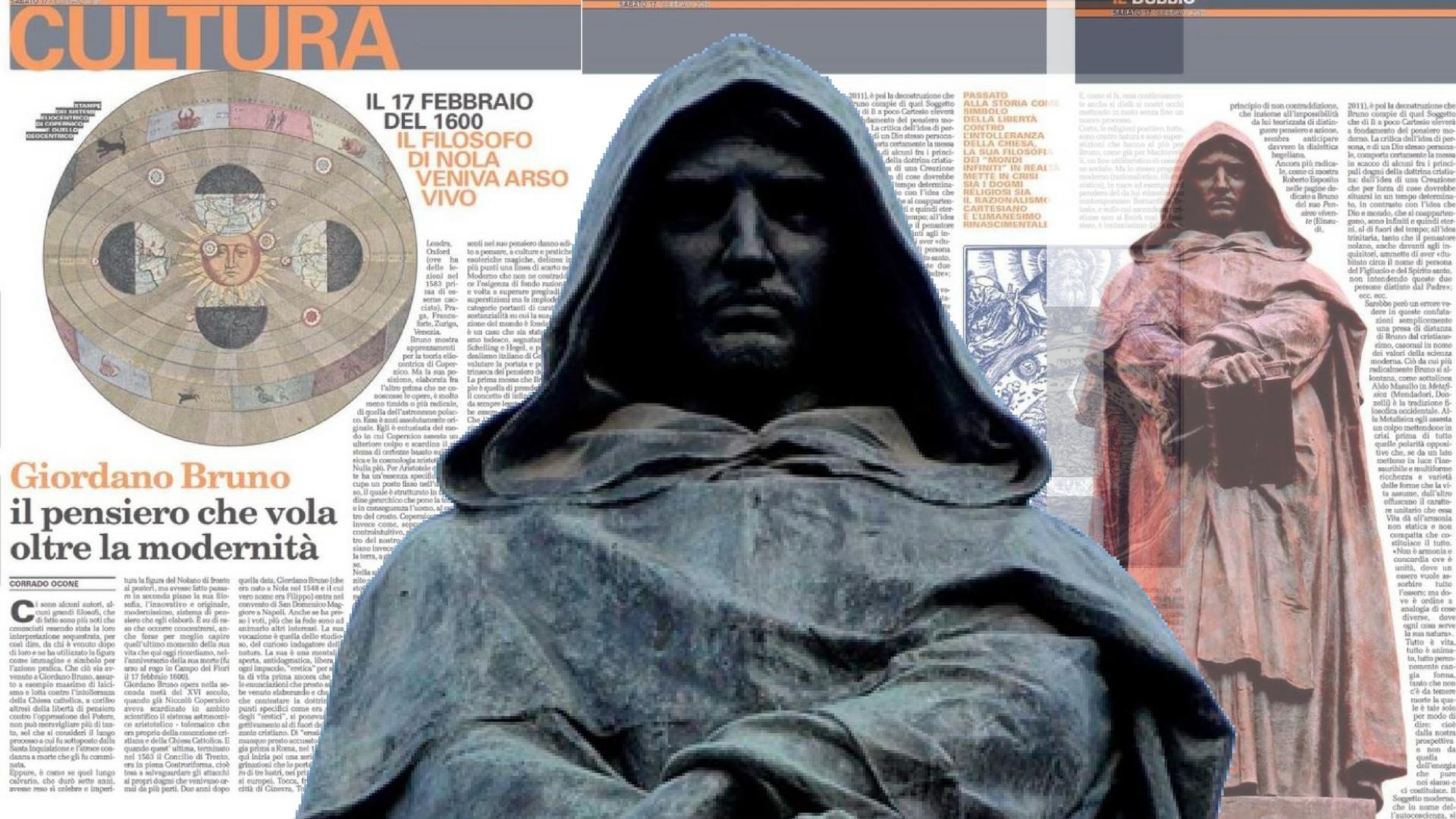 Giordano Bruno, il pensiero che vola oltre la modernità
