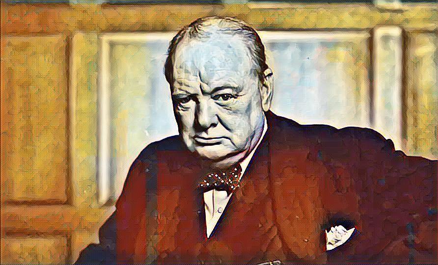 Quando Churchill mandò la lingua inglese in battaglia