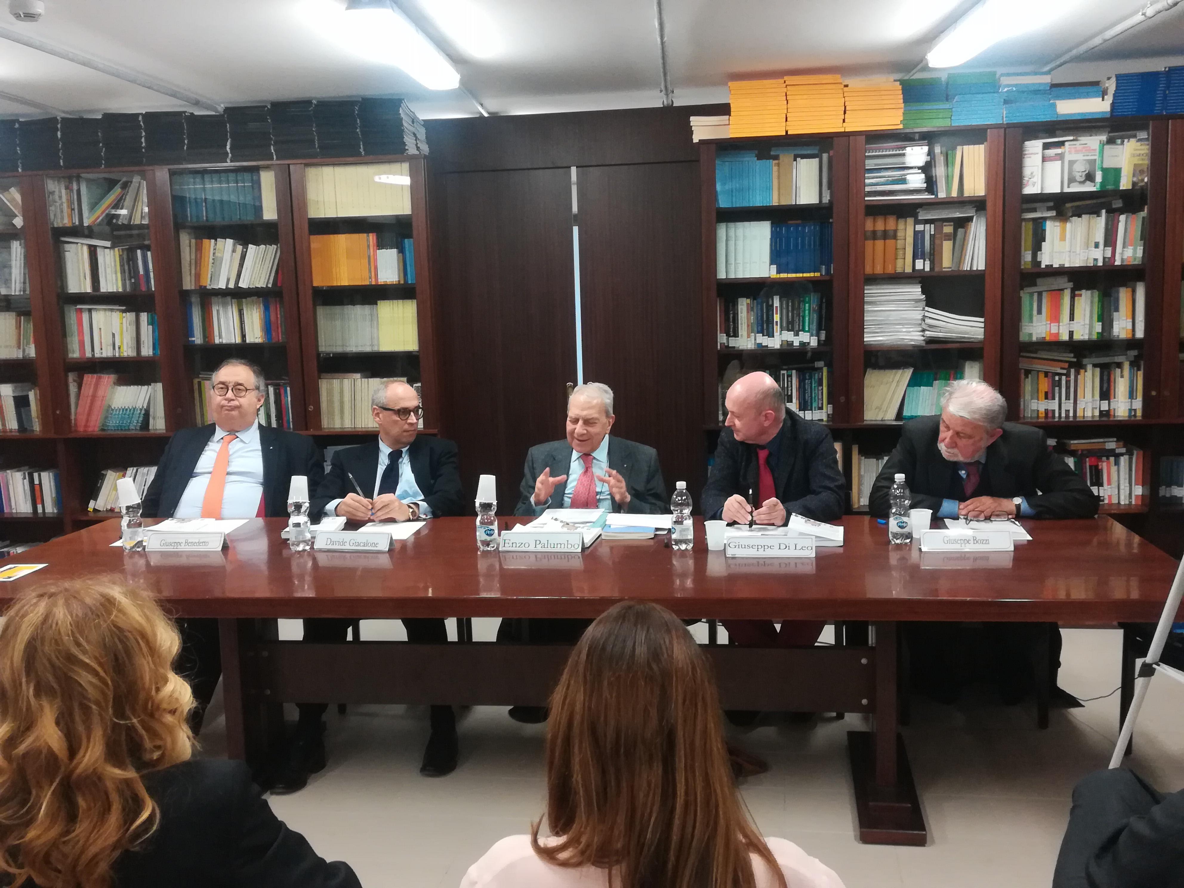 """Presentazione del libro """"Le immunità parlamentari"""""""