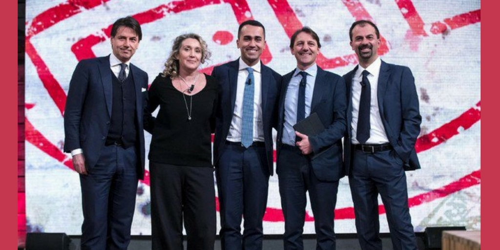 La squadra dei ministri e il teatrino della politica