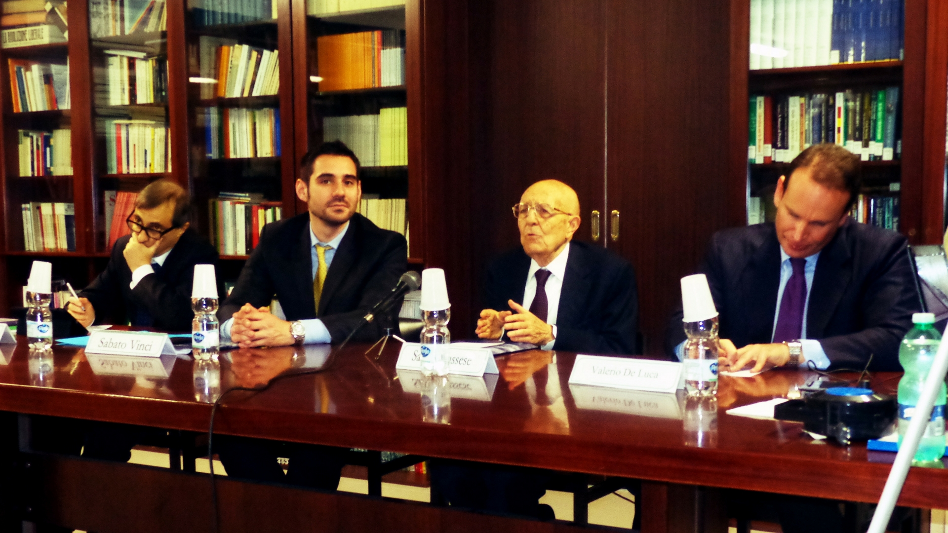 Scuola di Liberalismo, la lectio magistralis di Sabino Cassese