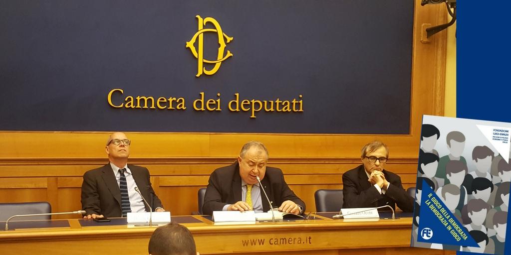 Presentato alla Camera dei deputati lo studio-ricerca della FLE