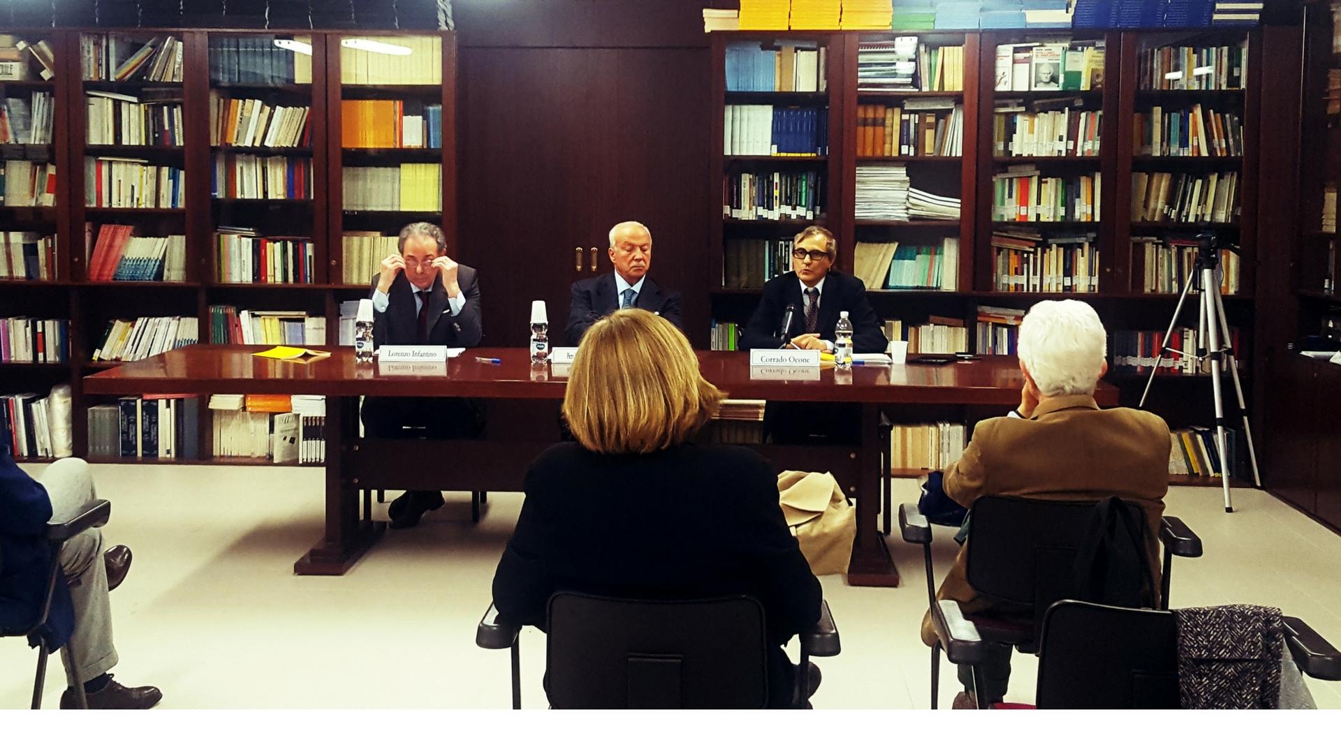 "Presentation of the book ""Italian Ideology: Dialogue between Callisto and Stolido"""