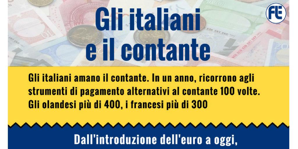 Gli italiani e il contante