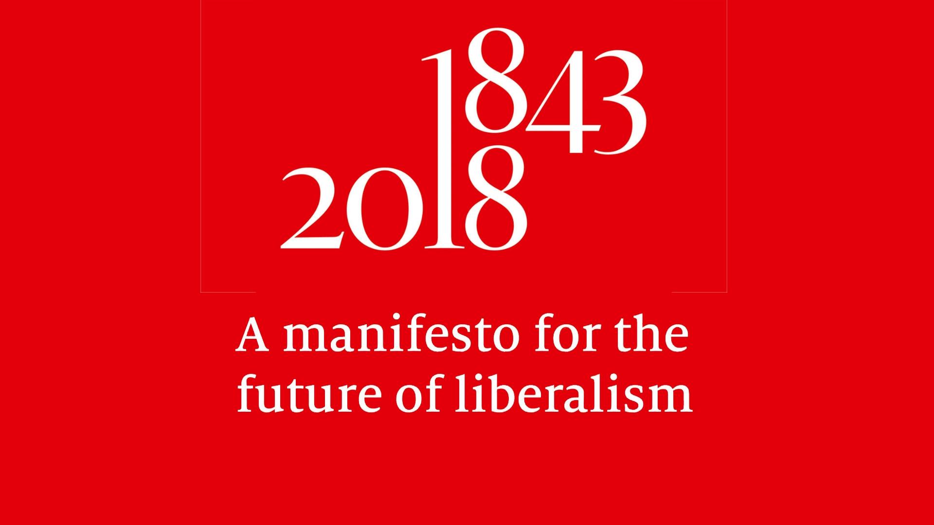 """Un """"Manifesto per un nuovo liberalismo""""? Intanto partiamo da 3 princìpi"""