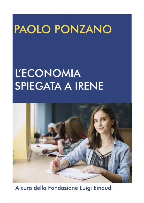 """Lessons of Economy for Irene"", author Paolo Ponzano"