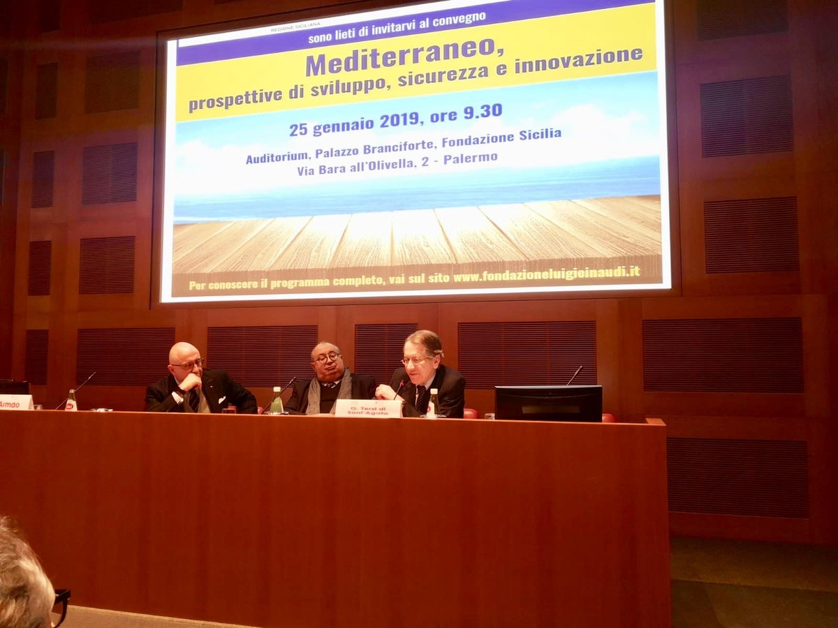The Strategic Depth of the Mediterranean area: Development, Security and Innovation – Conference meeting