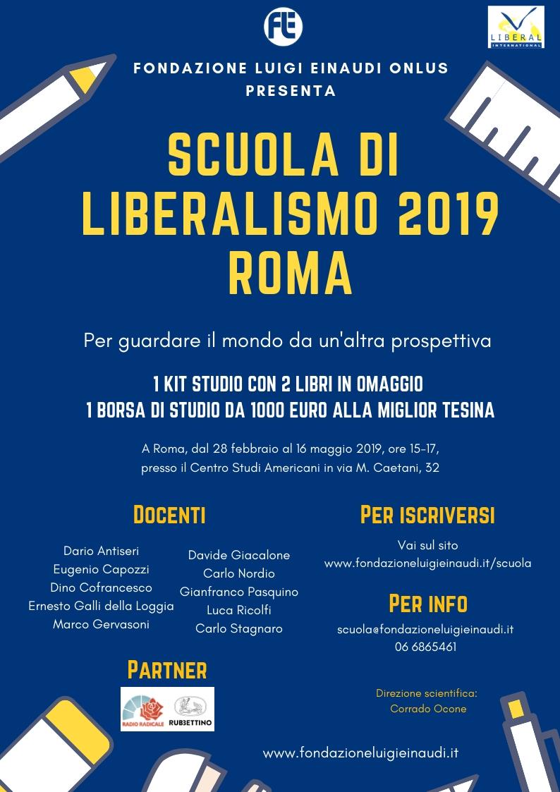 Scuola di Liberalismo 2019 – Roma