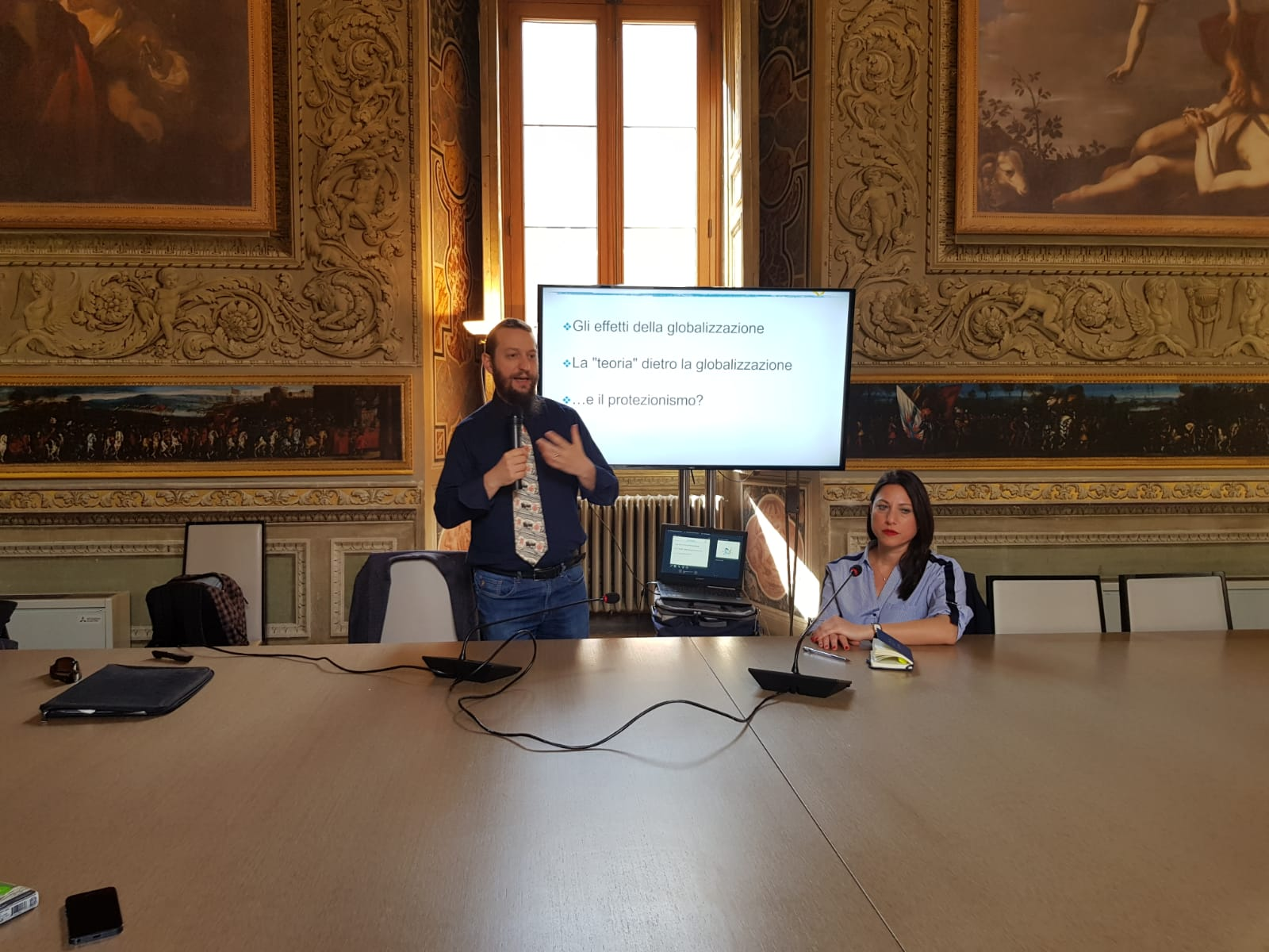 "Liberalism School 2019 – Roma: Carlo Stagnaro's lesson on ""Protectionism"""
