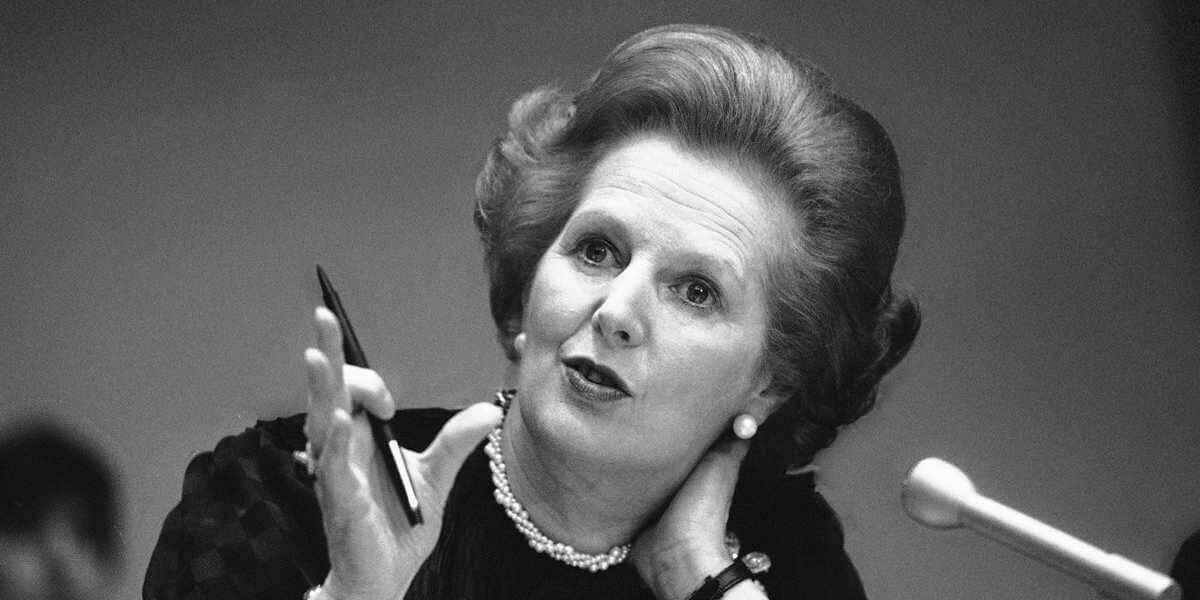 La Thatcher modello antipopulista