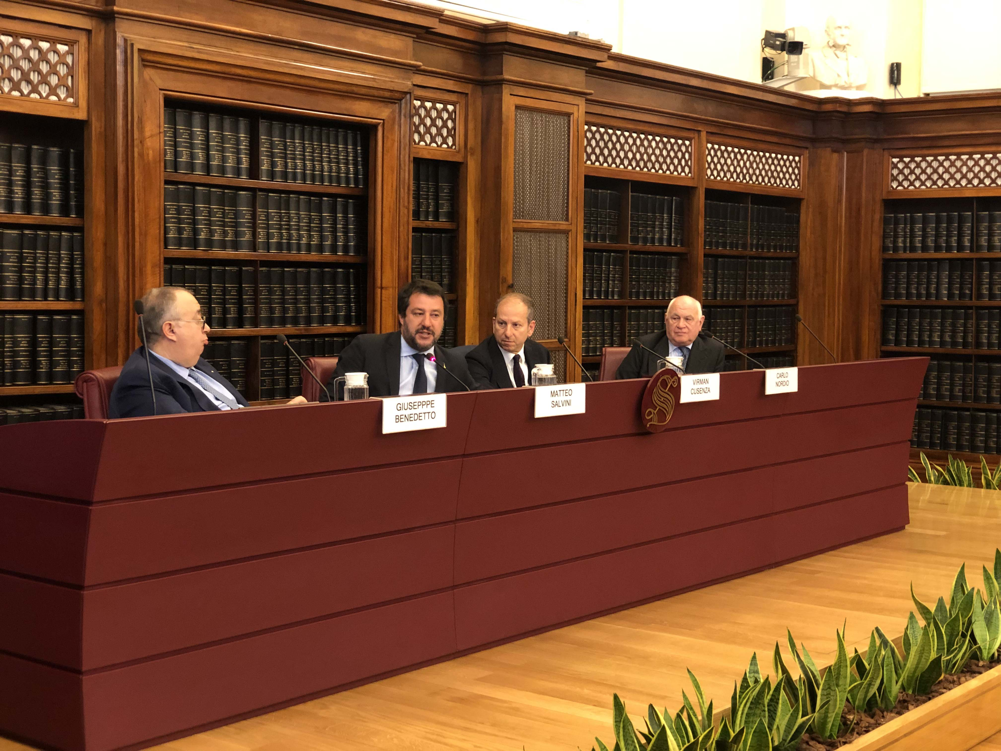 "Presentation of the book ""The Season of Indulgence and its Poisoned Fruits"" by Carlo Nordio in the Senate"