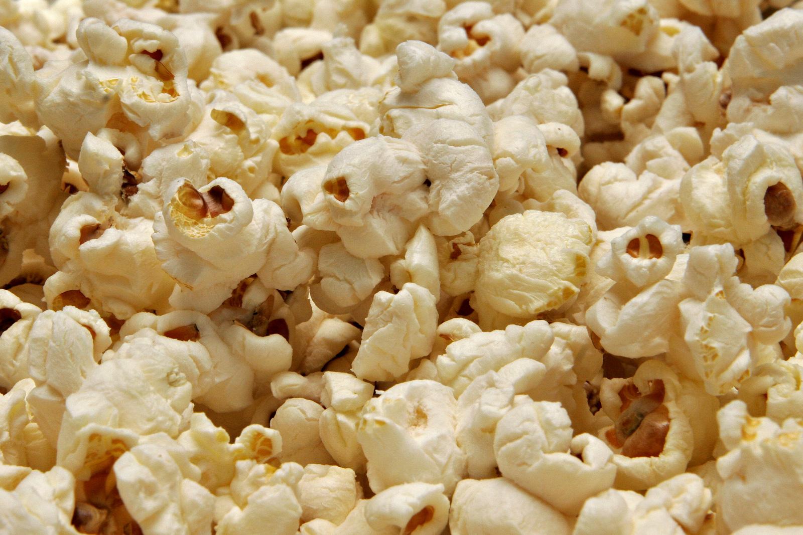 Popcorn anche per noi