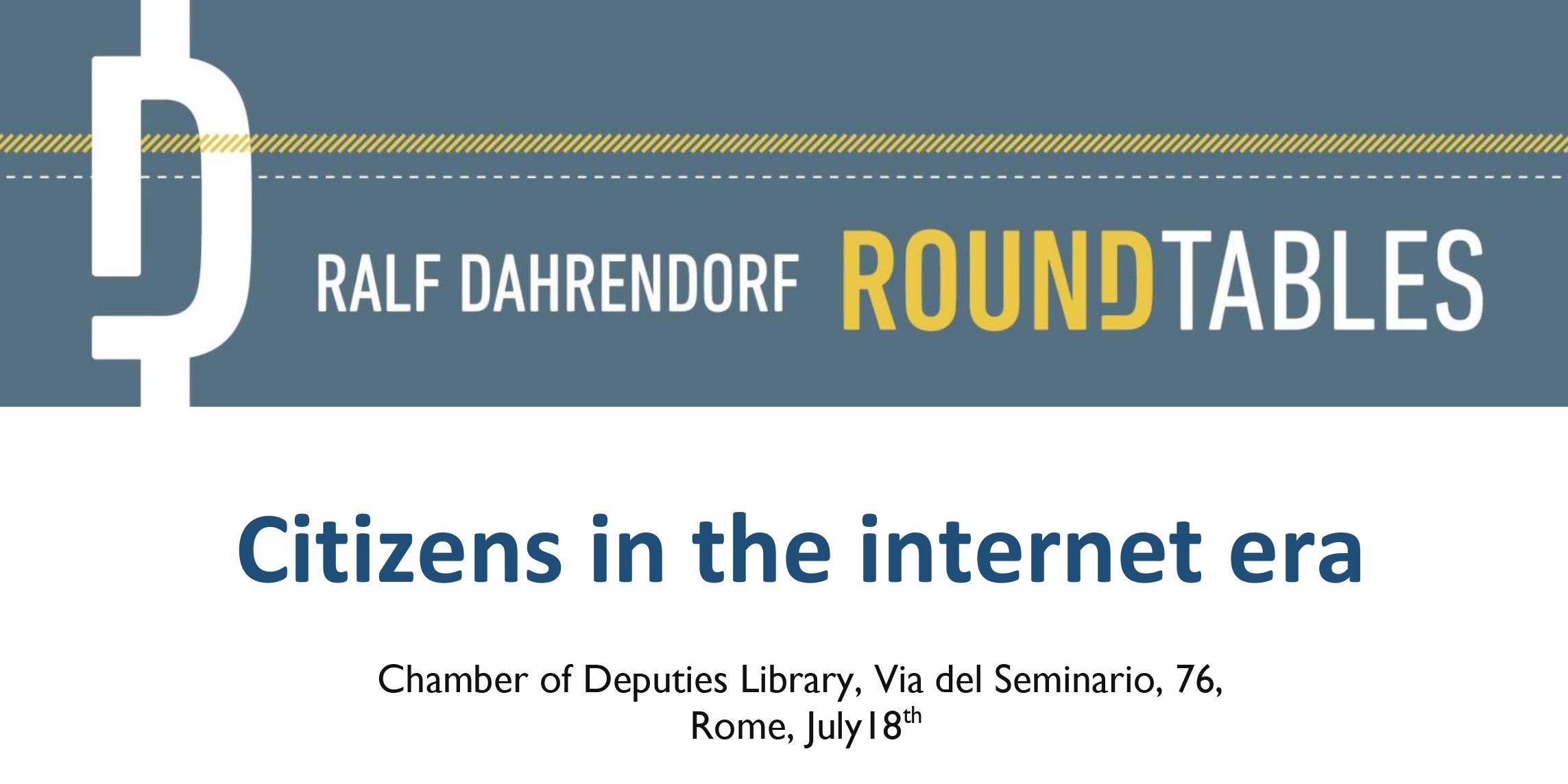 Citizens in the internet era