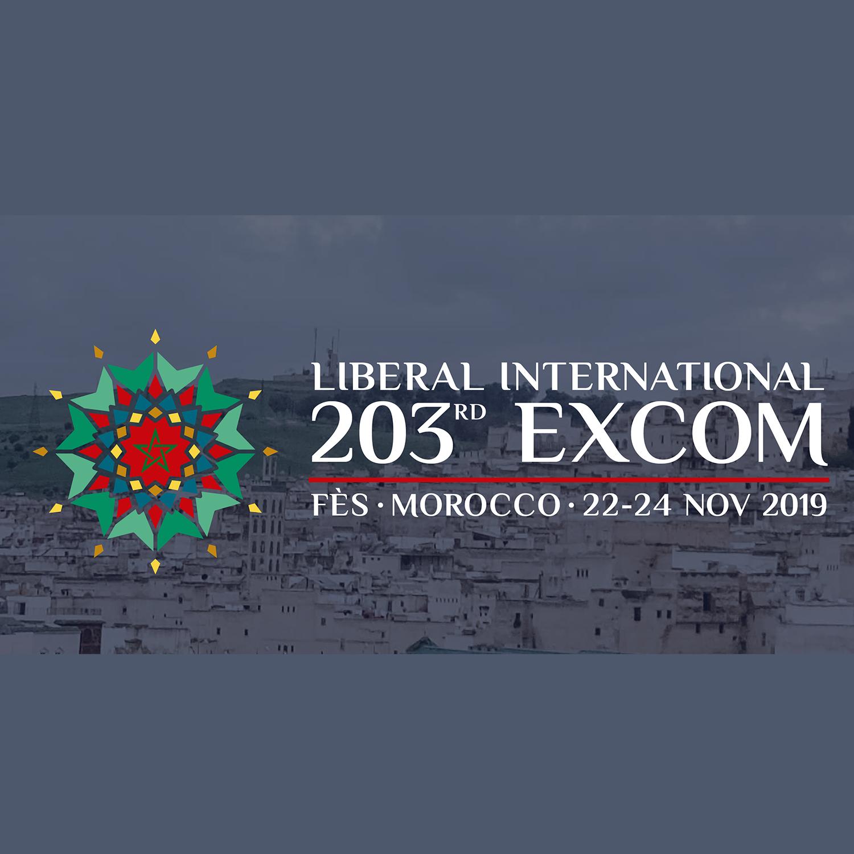 Il 203° meeting del Comitato Esecutivo di Liberal International a Fes, Marocco