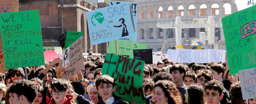 Sullo sciopero degli studenti riguardo il riscaldamento climatico