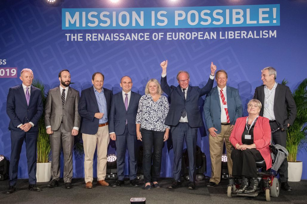 Hans Van Baalen elected as ALDE Party President. Italian liberal are enthusiastic