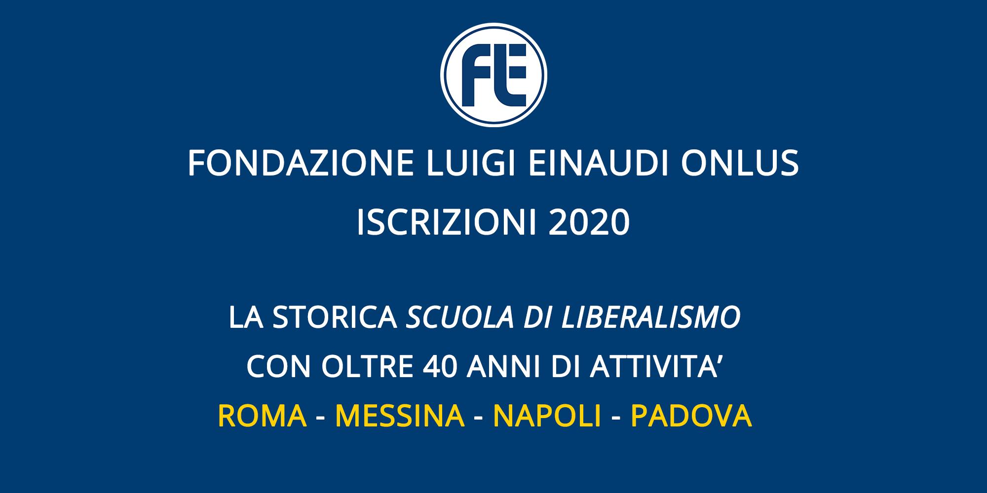 Scuola di Liberalismo 2020