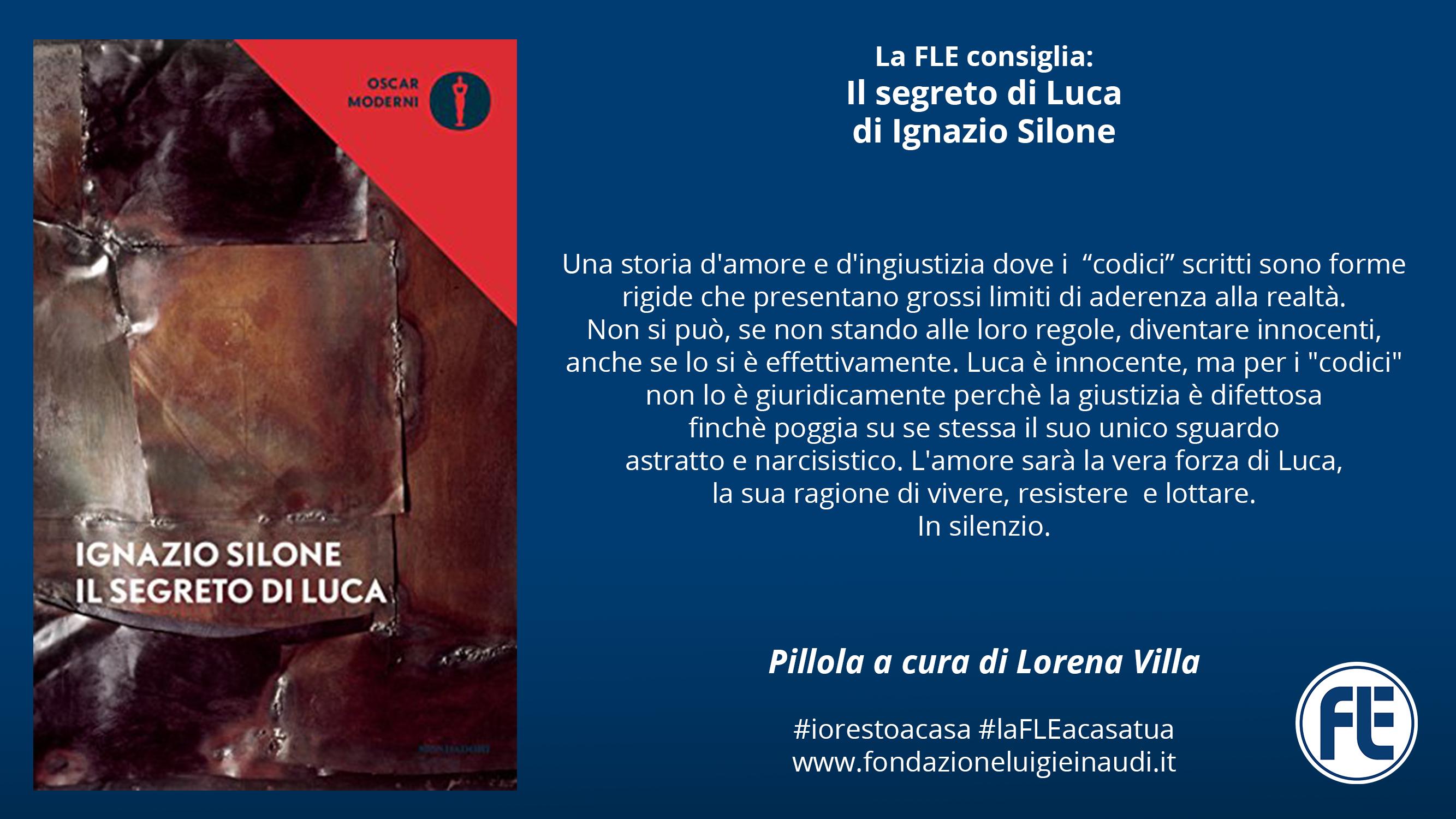 #laFLEacasatua – Pillola #8, Il segreto di Luca