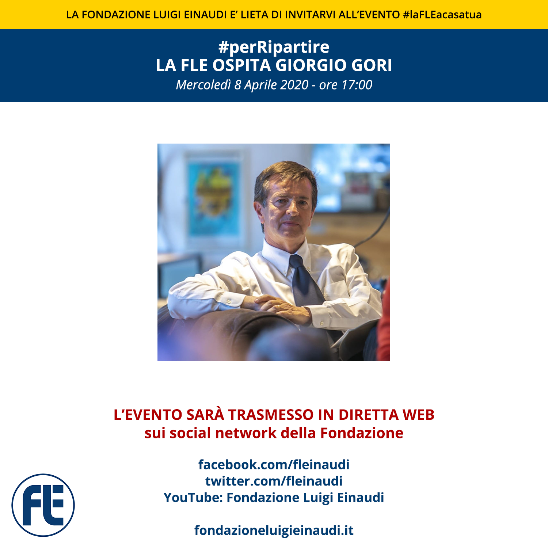 #laFLEacasatua – Diretta con Giorgio Gori, #perRipartire