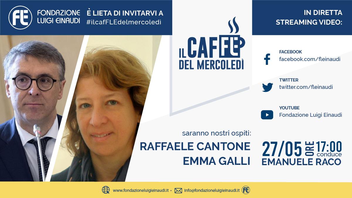 #ilcafFLEdelmercoledì – Raffaele Cantone ed Emma Galli