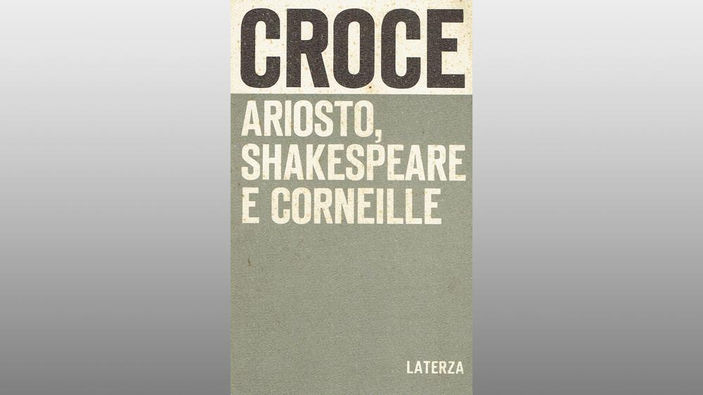 """Michele Gerace legge """"Ariosto, Shakespeare e Corneille"""" di Benedetto Croce"""