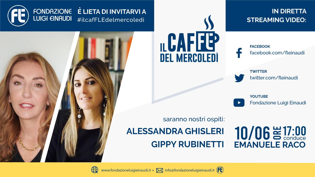 #ilcafFLEdelmercoledì – Alessandra Ghisleri e Gippy Rubinetti