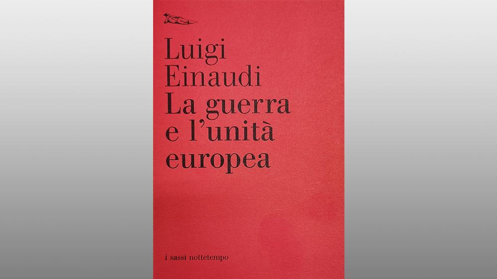 "Michele Gerace legge ""La guerra e l'unità europea"" di Luigi Einaudi"