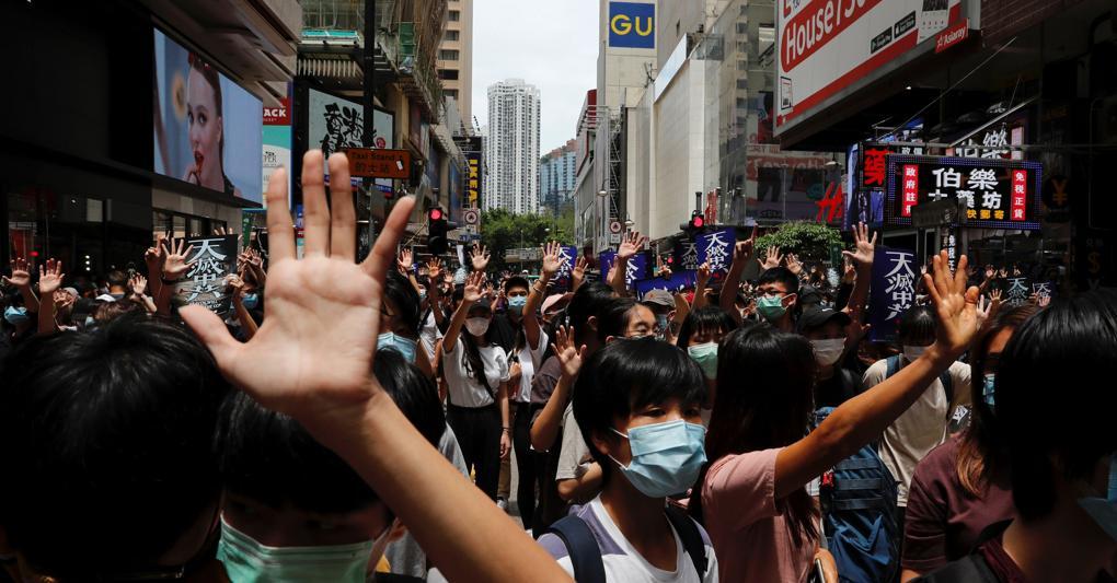 Hong Kong e il gigante cinese