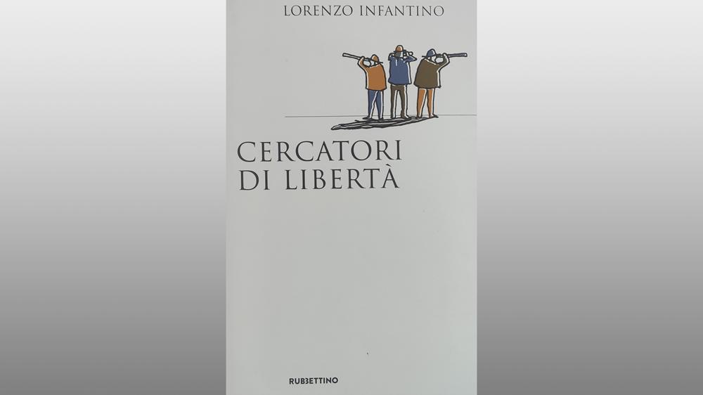 """Michele Gerace legge """"Cercatori di libertà"""" di Lorenzo Infantino"""