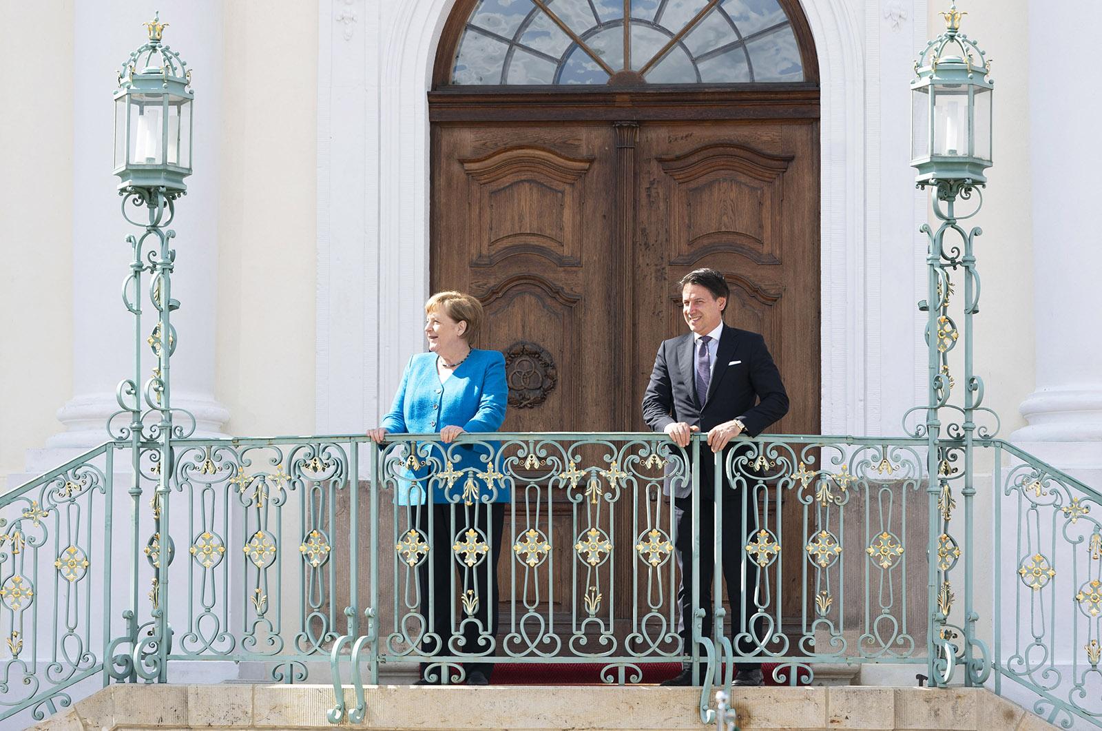 Conte conta Merkel