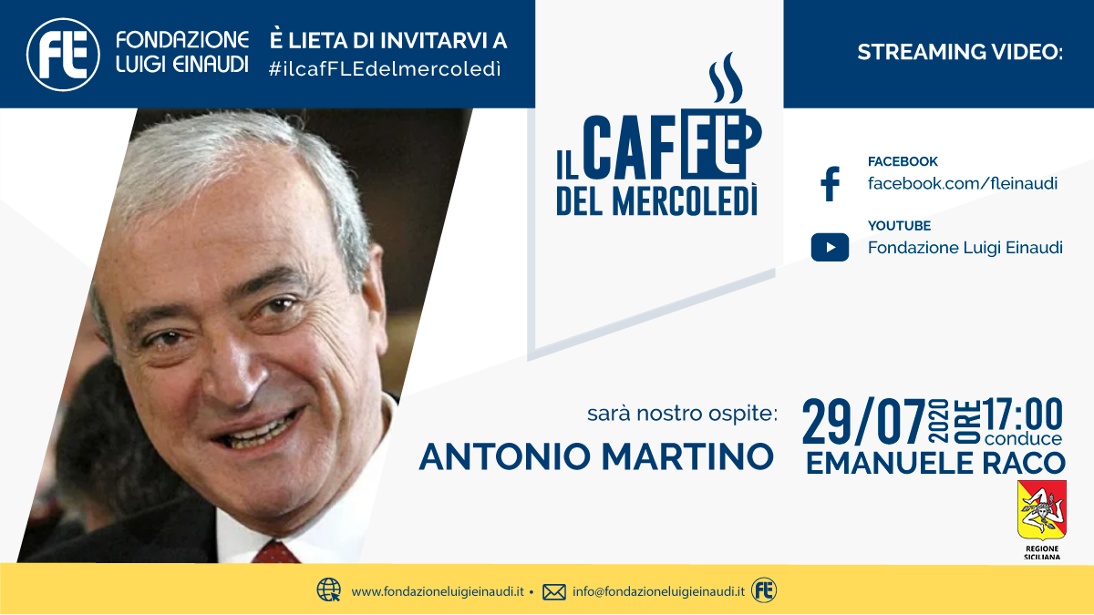 #ilcafFLEdelmercoledì – Antonio Martino