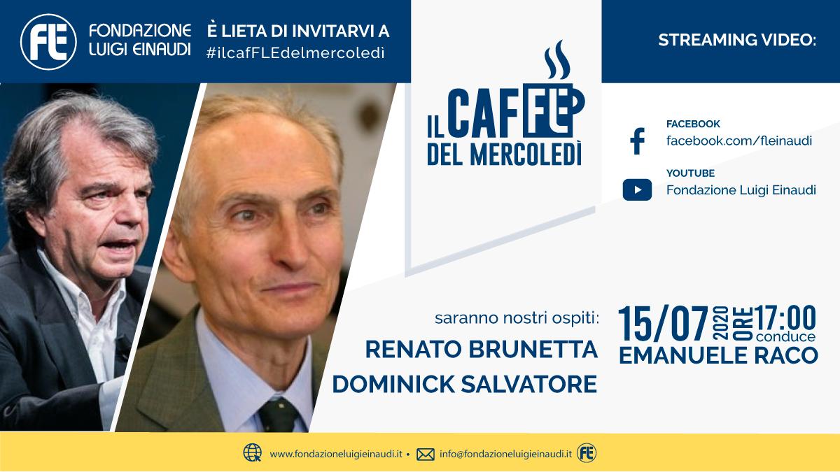 #ilcafFLEdelmercoledì – Renato Brunetta e Dominick Salvatore